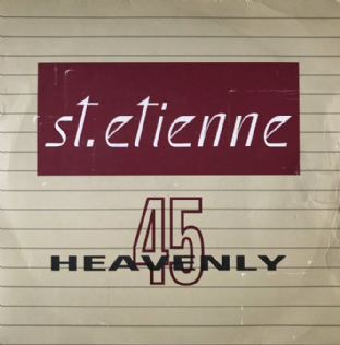 "St. Etienne ‎- Only Love Can Break Your Heart/Filthy (7"") (VG-/G+)"